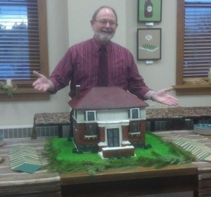 William Kent Krueger visits the library in Detroit Lakes, MN