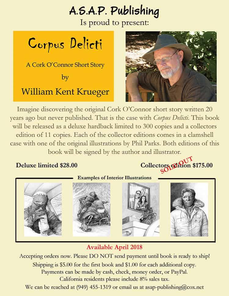 Corpus Delicti Flyer